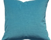 """Watery Blue Velvet Pillow Cover 20"""""""