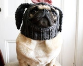 Dog Hat - Little Lady Rabbit Hat - Pug Hat - Easter Hat - Easter Dog Costume - Dog Outfit - Gift for Pets