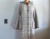 1970s Snowflake Coat // Made in North Wales