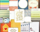 Joy+LOve+Home Project LIfe Cards-Journaling Cards