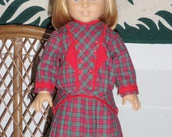 1900s Edwardian School Frock Dress for American Girl Samantha Rebecca Nellie 18 inch dolls