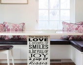Know The Recipe For Love Inspirational Quote Vinyl Wall Decal Love Quote