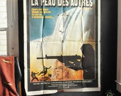 1979 Large Rare Movie Poster SEARCH & DESTROY (CAN) French Moroccan Theater Film Poster