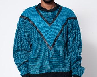 Chevron Print Sweater