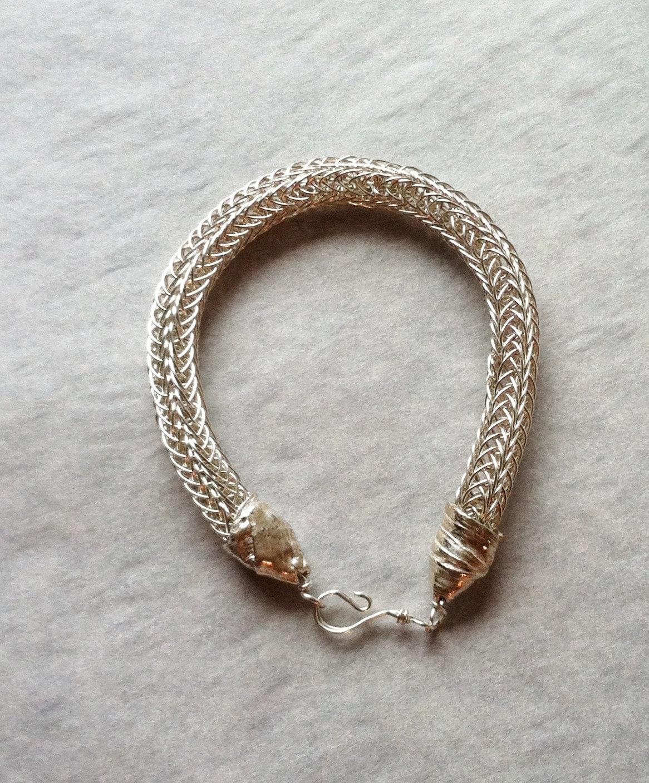 Viking Knit Bracelet Pattern