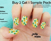 20 Pineapple Print Full Nail Wrap Sticker Strips (SALE: Buy 2 Get 1 FREE--read description for details) Listing Stats