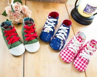 no 706 Aidan Baby Sneakers PDF Pattern