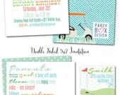 Mini Golf Birthday Boy Party Invites