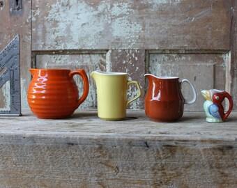 little vintage pitchers
