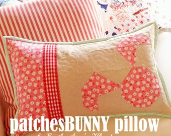 patchesBUNNY pillow pattern by emily ann's kloset PDF