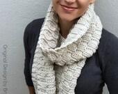 Crochet Scarf Pattern - Autumn Leaves Long Scarf Crochet Pattern No.516 Instant Digital Download PDF File