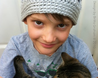 Crochet Hat Pattern for Boys and Men - Simply Spikey Hat Crochet Pattern No.107 Digital Download PDF cat not included