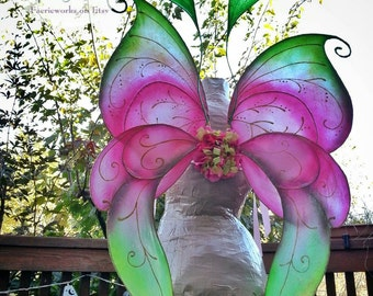 Aisling Faery Queen Fairy Wings Large Faery Wings for Bridal Wedding Cosplay Convention LARP Halloween Costume Fair Faire Festival Wings