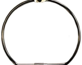 One 6 Inch Screw Lock Ring Aluminum Book Binding Ring