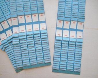One Vintage 1960s Bingo Pull Tab