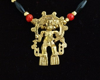 Gold Shaman - Costa Rican artifact