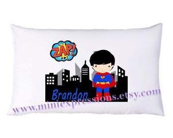 Personalized  Superman  PillowCase