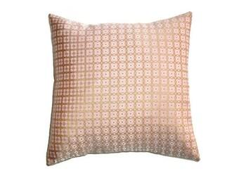 "Gold Brocade Cushion Cover 40cm 16"" Alannah Hill Fabric Bronze Silver Satin Geometric Pink Cotton Envelope Pillow Slip Back Luxe Splice"