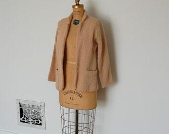 Vintage 50s Jacket - 1950s Boucle Coat - The Adele