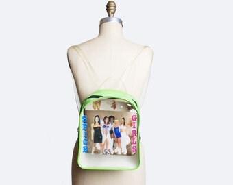 Vintage 90s Spice Girls PVC Backpack