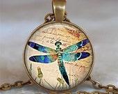 Dragonfly Brilliance pendant, dragonfly necklace dragonfly jewelry dragonfly pendant dragonfly jewellery keychain key fob