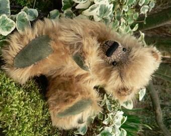 Leo Miniature OOAK Mohair Artist Teddy Bear