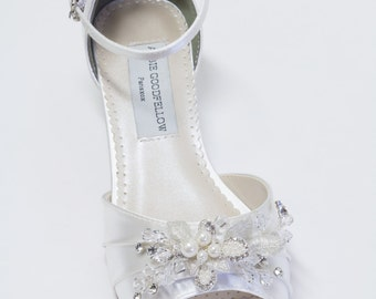 dyeable wedding shoes wedge. wedding wedge shoes - wedges- parisxox by arbie goodfellow dyeable