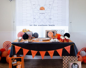 Large March Madness Bracket PRINTABLE by Love The Day