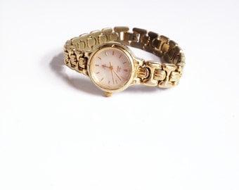 Vintage Gold Tone Watch