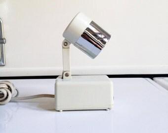 Vintage Mini Mod Folding Task Light