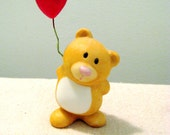 Vintage Ceramic Bear With Balloon