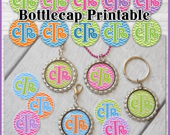 CTR Bottle Cap Images, Primary LDS Choose the Right, INCHIE - Printable Instant Download