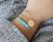 Gemstone Bar Bracelet - Natural Gemstone, Sterling Silver or 14k Gold, Minimalist Jewelry, Layering Bracelet, Wedding Jewelry, Gifts For Her