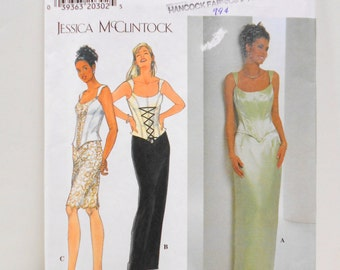 Simplicity Pattern 7637, Misses/Petite Top & Skirt, Size 10 thru 14, Un Cut Sewing Pattern, Tailoring Supplies
