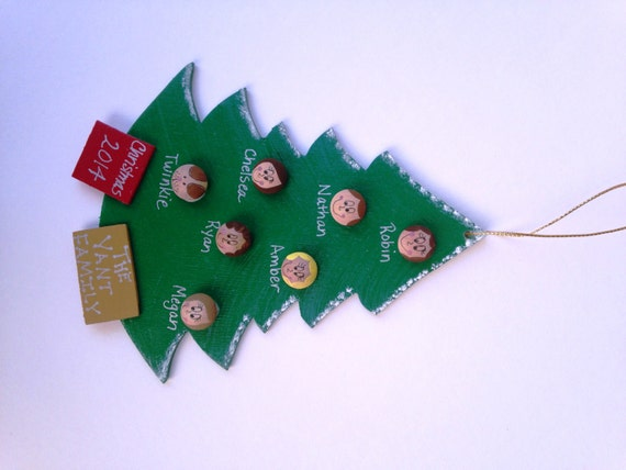 Personalized Christmas Ornaments 5-16 Faces