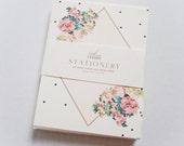 Floral Diamond Stationery Box Set