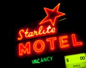 Starlite Motel Neon Sign - Minneappolis Art - Mid Century Modern Decor - Neon Signage - Minnesota Art - Motel Sign - Fine Art