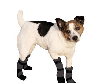 JACK RUSSELL Dog Booties, Dog Boots, Shoes for Dogs, Dog Clothing,  Waterproof Winter Boots, Snow Boots, Pet Accessories, Dog Clothes, Gift