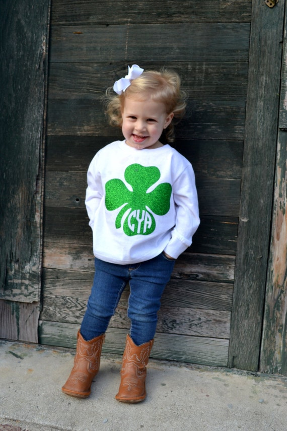 Items Similar To Toddler St Patricks Day Shirt With