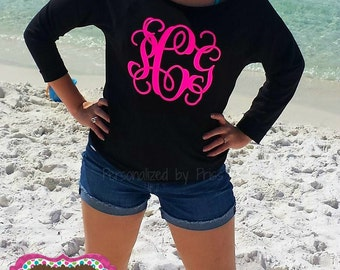 Off Shoulder Monogrammed Top