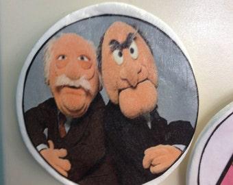 Muppets Statler & Waldorf Magnet