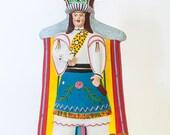 Folk Art, Mexican Folk Art, Dancer With Dove, Art Doll