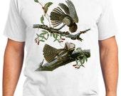 Chuck-wills Widow Bird Retro Men & Ladies T-shirt - Gift for Bird Lovers and Ornithologist (idc052)