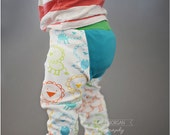 Happy Buns Britches: Cloth Diaper Pants Pattern, Ruffle Bum Pants Pattern