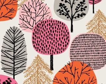 Pink Copse, limited edition giclee print