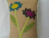"Everlasting Flowers Pillow ~ 12"" x 15"" ~ Valentines Day Gift ~ Mothers Day Gift"
