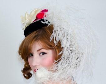 1960s vintage hat / designer hat / Irene of New York