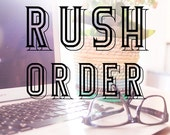 Rush Production of Tattoo Orders, Expedited Production, Rush Production, Fast Tattoos, Urgent Order, Last Minute