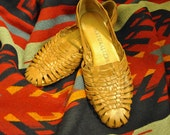 Naturalizer Woven Light Brown Sandals Size 6.5
