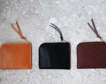 Hand Stitched Leather 3-in-1 Wallet
